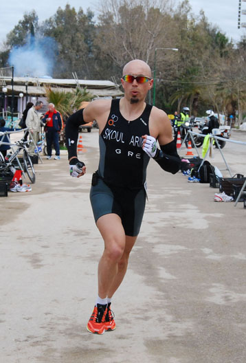 2012 02 19 diathlon kyparissia run2 Grigoris Skoularikis