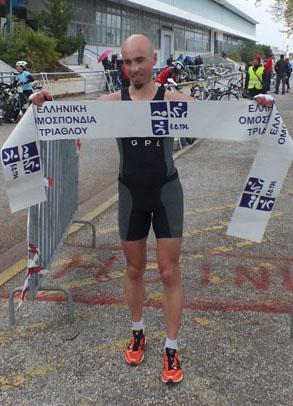 Grigoris Skoularikis, Hellenic Duathlon Champion 2012