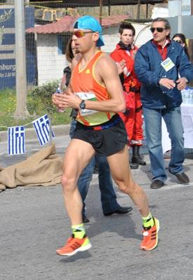 Grigoris Skoularikis ATG Marathon 2012
