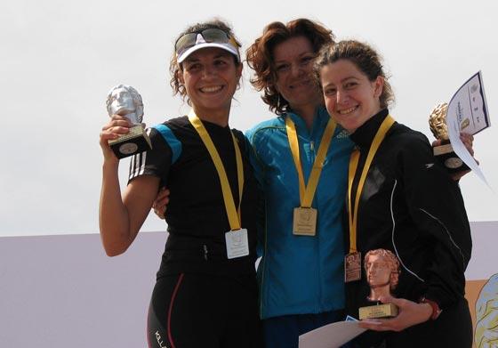 Chara Skoulariki podium ATGM 2012
