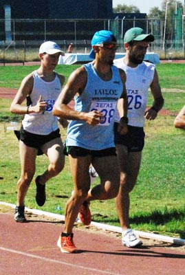 Grigoris Skoularikis track 5k