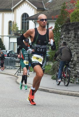 Grigoris Skoularikis Powerman Zofingen 2012 run