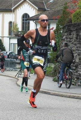 Grigoris Skoularikis Powerman Zofingen 2012 run