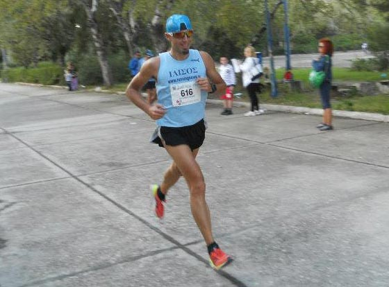 Grigoris Skoularikis 15k run