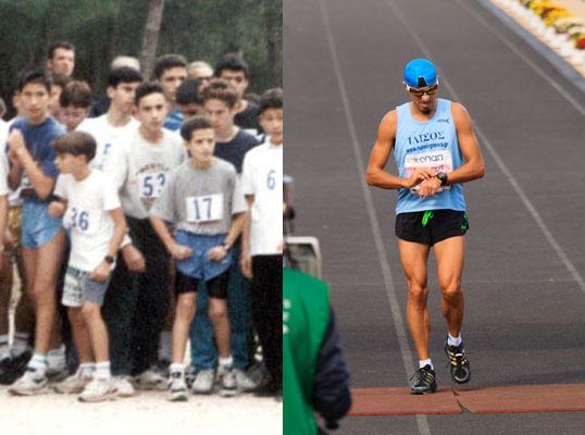 1995-2012 Grigoris Skoularikis running contrast
