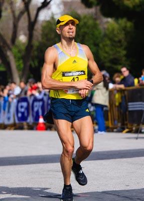 Grigoris Skoularikis Athens Half Marathon