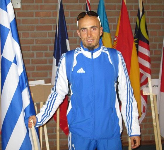 Grigoris Skoularikis Powerman Holland 2013 prerace