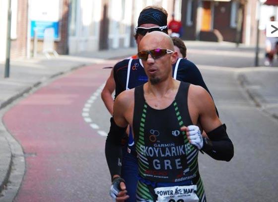 Grigoris Skloularikis Powerman Holland 2013 run1