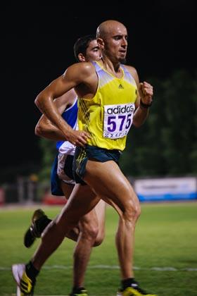 Grigoris Skoularikis 10.000m track